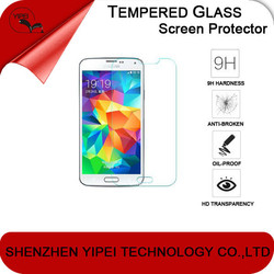 Preminum 0.33mm Tempered Glass Screen Protector for Samsung Galaxy S3 S4 S5 MINI i9300 i9500 i9600 G800 8190 9190 with 2.5D