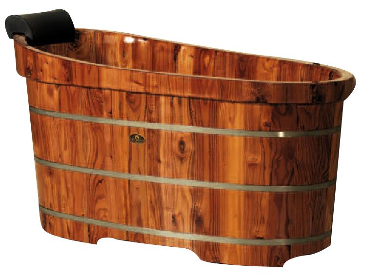 Bagno giapponese hinoki legno barile vasca da bagno-Vasca da bagno-Id ...