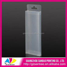 2015 wholesale hot sale custom frosted plastic cube boxes