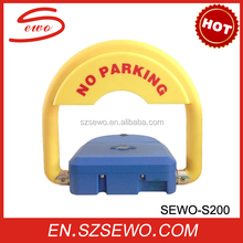 SEWO have two keys Rechargeable battery remote control Car Parking Lock