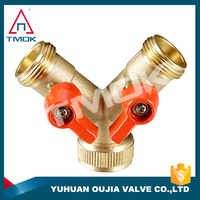 Hpb57-3 brass BSP thread psi 600 sand blasting surface Brass Y-pattern Strainer/check Valve