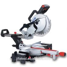 92107e 210mm elcetric endüstriyel güç aracı/ahşap araç/ağaç kesme/sürgülü bileşik gönye testere