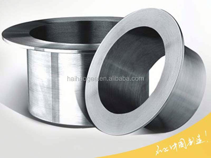 Socket weld stub end pipe stainless steel collar