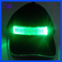 colorful optical fiber reflective led light hat