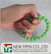 Colorful Buddhism beads silicone Buddha Beads Bracelets