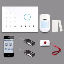 touch screen burglar home security alarm system with tamper alarm YCG-G2