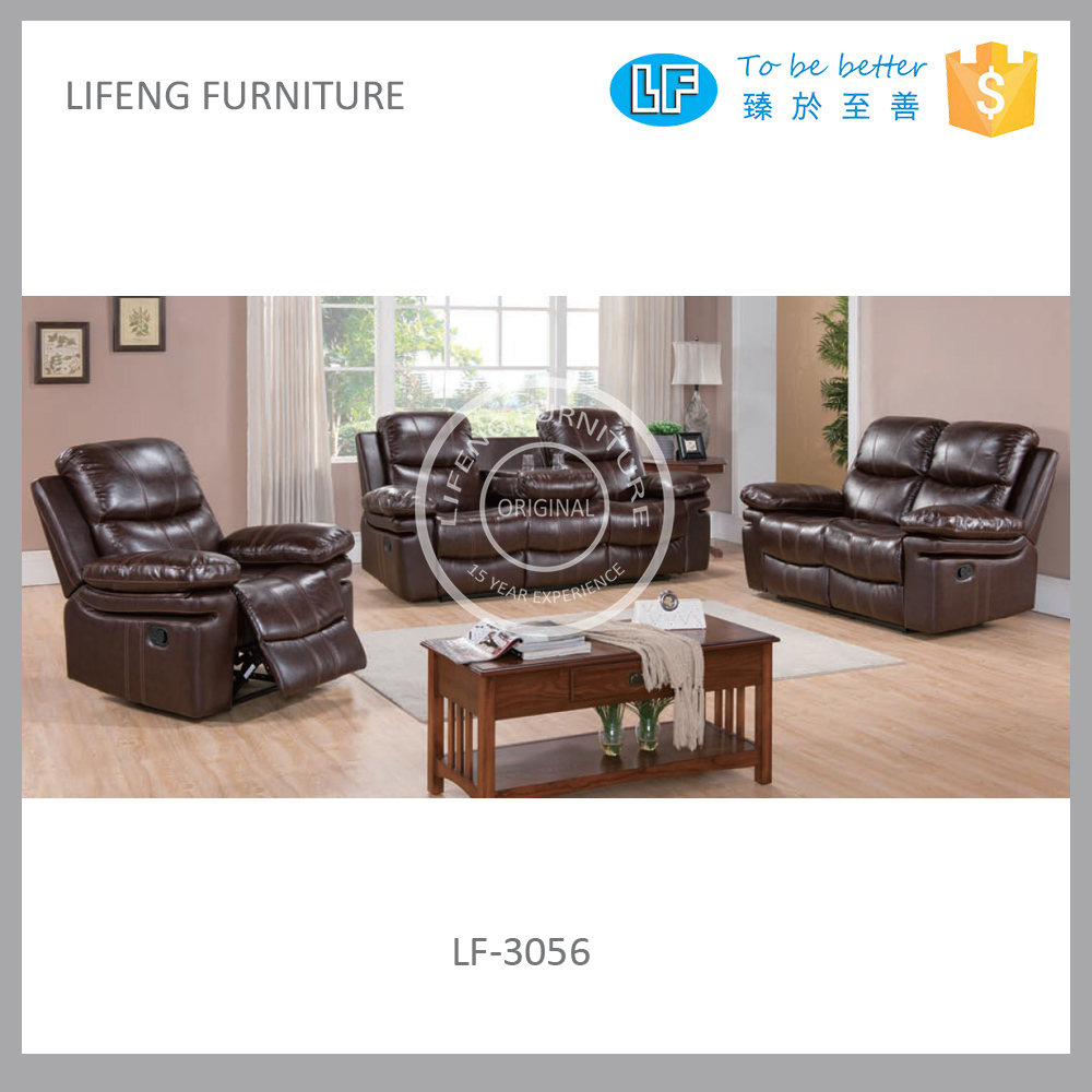 Cheap recliner sofa sets motion sofa sets lf 3056 buy for Cheap reclining living room sets