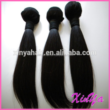 directly factory double weft 8a 7a 6a grade cheap wholesale unprocessed remy virgin straight brazillian hair