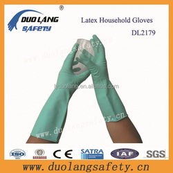 Chemical Proof Water Proof Latex Household Gloves