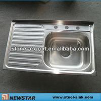 drain pad kitchen sink