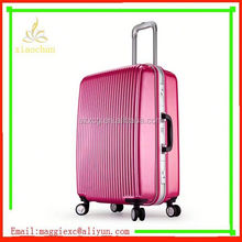 A159 Most fashionable and salable 2013 fashion red laptop abs+pc travel trolley luggage case