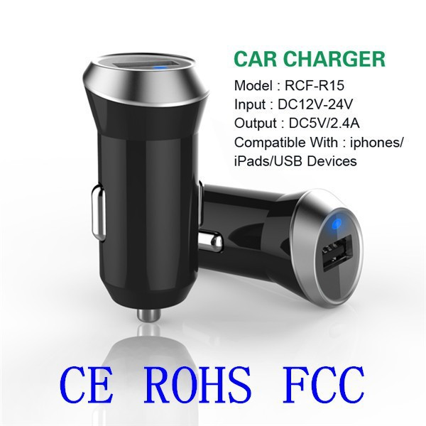 Newest 2-port USB Car Charger, for iphone 6 samsung portable charger, car charger