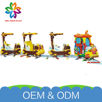 High Quality Commercial Safe Playground Electric Equipment Funny Customized Playground Trains