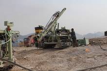 Z115Y multi-function crawler drill rig specially for mining blasting hole