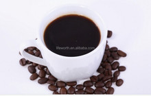 Good instant coffee, green coffee with reishi with private label and logo