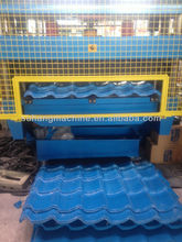 color steel roof tile forming machine
