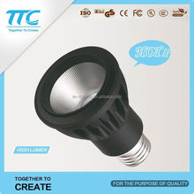 600lm aluminum rechargable led bulb e27 warm/cold white