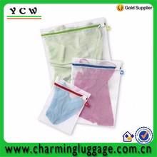 China made high quality ployester mesh bag laundry / mesh washing bag / net washing bag