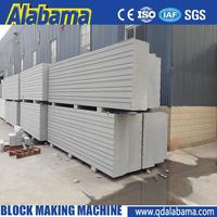 fully stocked competitive price autoclaved aerated concrete making block machine