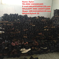 used shoes for men leather soccer boots in bales foR africa market