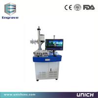 Professional stainless steel&copper&brass&plastic fiber laser marking machine/10w&20w&30w fiber marking machine