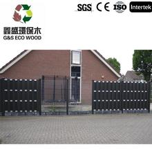 2015 construction building modern house interior and exterior decoration garden fence plastic made in China