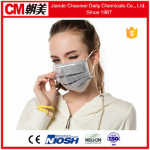 CM 17.5cm*9.5cm Japan exporter disposable non woven doctor face mask with earloop or ties