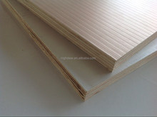 aluminum- wood composite film faced plywood using water-based paint