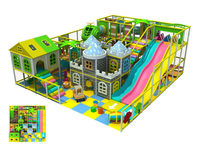 Customized/hotsell/wooden naughty castle playground