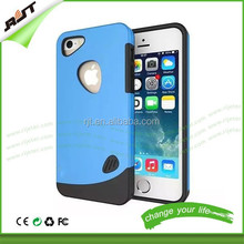 Wholesale unique cell phone accessories hybrid hard 2 in 1 combo phone case cover for iphone 6 plus