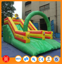 2015 summer fashionable Children and adults like best water sports inflatable shark slide water