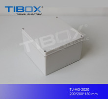 TIBOX push button plastic distribution cases box