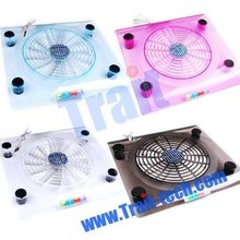 2015 New arrival USB Notebook Laptop Cooling Pad/Cooler with LED Light