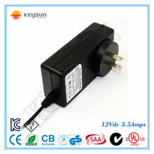 12v 3.5a plug in ac adapter for LED lighting power adapter