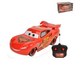 Pixar CARS 2 RC Radio Remote Control Lightning NO.95 Car w/Lights New in Box