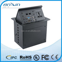 2014 Hot selling custom home appliance pop up av tabletop socket