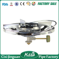 China Made High Quality Blue Flame Mini Portable Cast Iron Stove Camping Propane Stove Single Burner LPG Gas Camping Gas Stove