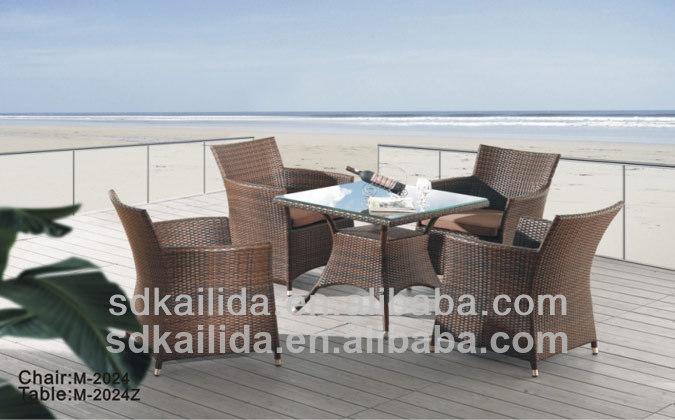 Venta caliente moderno al aire libre de mimbre muebles de fabricación china gt-tc09