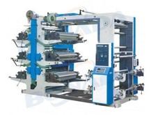 CE standard High Speed flexographic printing machine for plastic film/flexographic roll to roll type printing machine