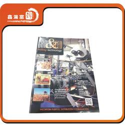 High quality OEM magazine/brochure cardboard printing