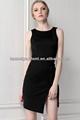 con estilo el detalle del recorte negro diseños casuales de vestir