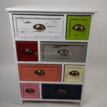 solid wood storage small furniture medical drawers cabinet