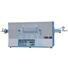 biological ceramics,electronic ceramics heating treatment used 3 zone vacuum atmosphere tube furnace