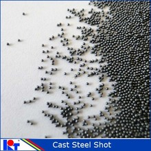 Cast steel shot (ball) for shot blasting