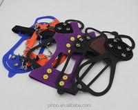 2015 Silicone ice crampon for Snow and Ice Safe Protect Shoes
