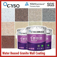 Water based special effect granite spray paint