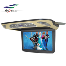 High quality digital screen 11.6 inch roofmount car monitor compatible with mp3 mp4 dvd functions