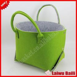 2015 New product foldable handmade felt bag,felt tote bag