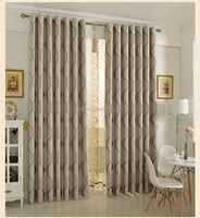 Living room and bedroom curtain fabric