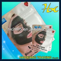laminated material cosmetic zipper ziplock plastic bag face mask packing bag
